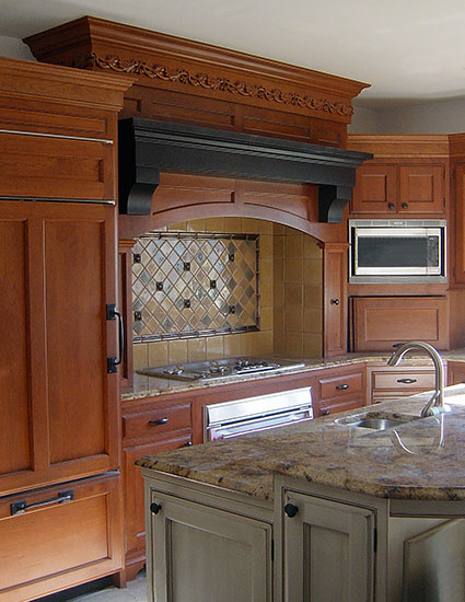 Kitchen Range Hood Pittsburgh PA Houses Timber Frame Home